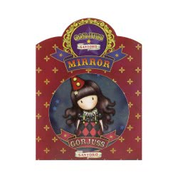 Santoro London Gorjuss Circus Pocket Mirror Harlequin 841GJD02 / 841GJ04 5018997627501
