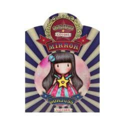 Santoro London Gorjuss Circus Pocket Mirror Καθρέπτης Τσέπης Moon Buttons 841GJD02 / 841GJ05 5018997627518