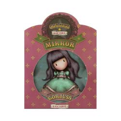 Santoro London Gorjuss Circus Pocket Mirror 841GJD02 / 841GJ06 5018997627525