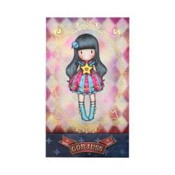 Santoro London Gorjuss Circus Matchbook Notebook Moon Buttons 993GJD01 / 993GJ01 5018997627549