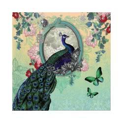 Altakarta Greeting Card 3D Happy Birthday Peacock 125.007-44 5204051125445