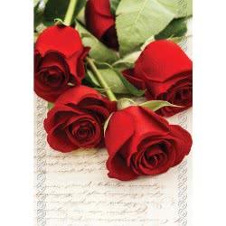 Altakarta Ευχετήρια Κάρτα Λουλούδια Fantasy 100.091-121 5204051003392