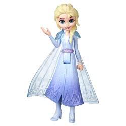 Hasbro Disney Frozen II Έλσα Μικρή Κούκλα Με Αποσπώμενη Κάπα E5505 / E6305 5010993608966