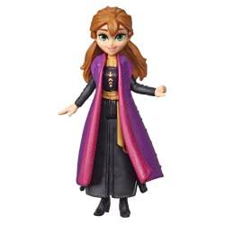Hasbro Disney Frozen II Άννα Μικρή Κούκλα Με Αποσπώμενη Κάπα E5505 / E6306 5010993608973