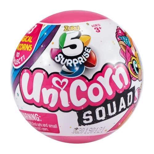 ZURU 5 Surprise Unicorn Squad Μπάλα Με 5 Εκπλήξεις - 1 Τεμάχιο 11807726 193052002389