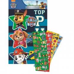 GIM Paw Patrol Album A4 And 100 Stickers 774-00391 5204549115675
