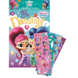 GIM Shimmer And Shine Album A4 And 100 Stickers 775-00491 5204549115774