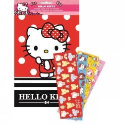GIM Hello Kitty Άλμπουμ Α4 Και 100 Αυτοκόλλητα 776-77991 5204549115422