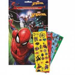GIM Spiderman Άλμπουμ Α4 Και 100 Αυτοκόλλητα 777-51491 5204549115835