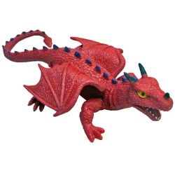 Gama Brands Rep Pals Dragon Ελαστική Φιγούρα Κόκκινος Δράκος 13406768 812404006768