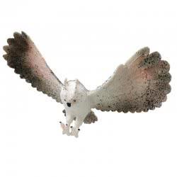 Gama Brands Rep Pals Snowy Owl Ελαστική Φιγούρα Κουκουβάγια 13437358 5055727537358