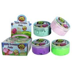 Fun Trading Putty Fluffy Slime Χλαπάτσα Σε Βαζάκι 150Gr - 4 Χρώματα 10104724 4260059599085