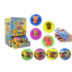 Gama Brands Crunchy Pets Surprise Μπάλα Έκπληξη Με Ζωάκι - 4 Χρώματα 13826813 8007632268138