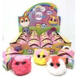 Gama Brands Pon Pon Kitties Λούτρινο Γατάκι Σε Κουτάκι Έκπληξη 12141426 645760414263