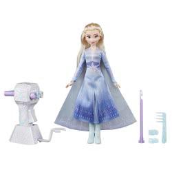 Hasbro Disney Frozen II Sister Styles Έλσα Κούκλα Με Πολύ Μακριά Μαλλιά E6950 / E7002 5010993610464