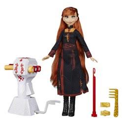 Hasbro Disney Frozen II Sister Styles Άννα Κούκλα Με Πολύ Μακριά Μαλλιά E6950 / E7003 5010993610471