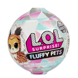 GIOCHI PREZIOSI L.O.L. Surprise Winter Disco - Fluffy Pets Series 6 LLU86000 8056379082910