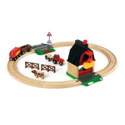 Brio World Σιδηροδρομικό Σετ Φάρμα 33719 7312350337198