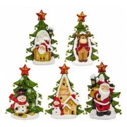 Christakopoulos Διακοσμητικό Κεραμικό Χριστουγεννιάτικο Δε 4609 5212007500420