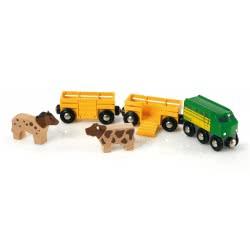 Brio World Τρένο με Ζώα 33404 7312350334043