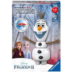 Ravensburger Disney Frozen II 3D Puzzle 54 Pieces Olaf 11157 4005556111572