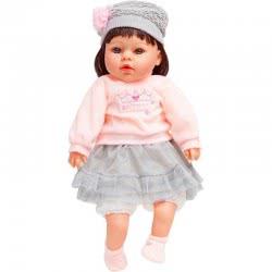 OEM Η Κουκλίτσα Μου Με Ροζ Μπλούζα Και Γκρι Φούστα, Μιλάει Ελληνικά G19-LP2401 5555552401195