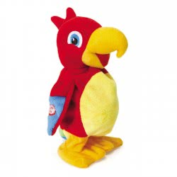 Real Fun Toys Ripetix Perry Plush Parrot 20 Cm 26138 8009549261387