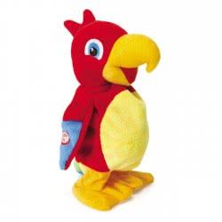 Real Fun Toys Ripetix Perry Plush Parrot 20 Cm 26138 8009549261387