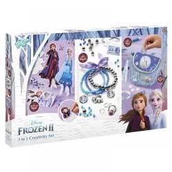 Totum Disney Frozen II Σετ Χειροτεχνίας 3 Σε 1 Ψυχρά Και Ανάποδα TM681200 8714274681200