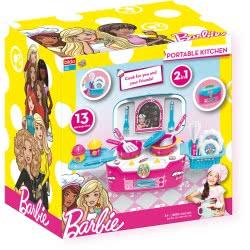 bildo Barbie Portable Kitchen - Φορητή Κουζίνα 2 Σε 1  2103 5201429021033