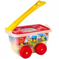 bildo Portable Trolley With 72 Blocks 5507 5201429055076