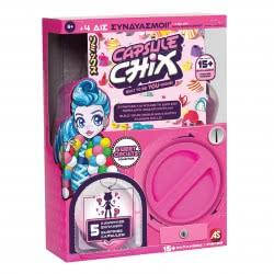 As company Capsule Chix Σειρά 1 Sweet Circuits Κούκλα Μόδας 1863-59200 630996592007