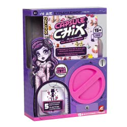 As company Capsule Chix Σειρά 1 Giga Glam Κούκλα 1863-59201 630996592014