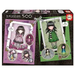 EDUCA Gorjuss Puzzle 2 X 500 Pieces Sugar And Spice The Scarf 17687 8412668176874