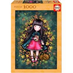 EDUCA Gorjuss Puzzle 1000 Pieces Autumn Leaves 17144 8412668171145