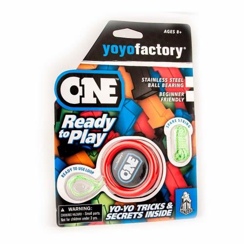 yoyo factory Yo-Yo One Blister Yo Yo Factory Red 45054 4260243450543