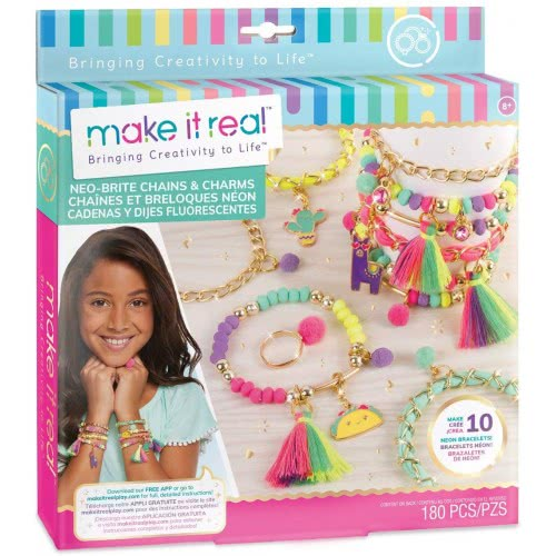 Make It Real Neo-Brite Chains And Charms 49286 695929013134