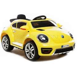 Skorpion Wheels Kids Electric Car Beetle Style 12V - Yellow 5246020Y 5202200002289