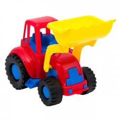 bildo Πλαστικό Οχηματάκι Μπουλντόζα Μεσαία 8804 5201429088043