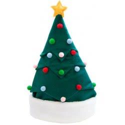 Christakopoulos Χριστουγεννιάτικος Σκούφος Δέντρο Χριστουγέννων Πράσινο 4818 5212007560202
