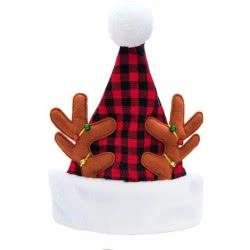 Christakopoulos Χριστουγεννιάτικος Σκούφος Τάρανδος 43Εκ 4817 5212007560172