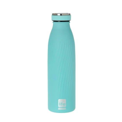 eco life Μεταλλικό Ανοξείδωτο Θερμός Μπουκάλι 500Ml Ciel - Σιέλ 33-BO-3031 5208009000365