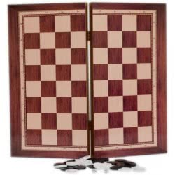 Argy Toys Backgammon Chess 50X50 Cm 1048 MDF 5200252250092