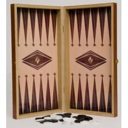 Argy Toys Τάβλι Σκάκι Μεγάλο 50X50 Εκ. 1048 MDF 5200252250092