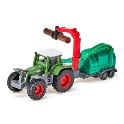siku Tractor With Wood Chippers SI001675 4006874016754