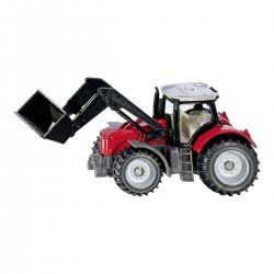 siku Massey Ferguson Tractor With Front Loader SI001484 4006874014842