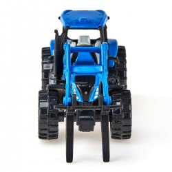 siku Tractor With Palette Fork And Palette, Blue SI001487 4006874014873