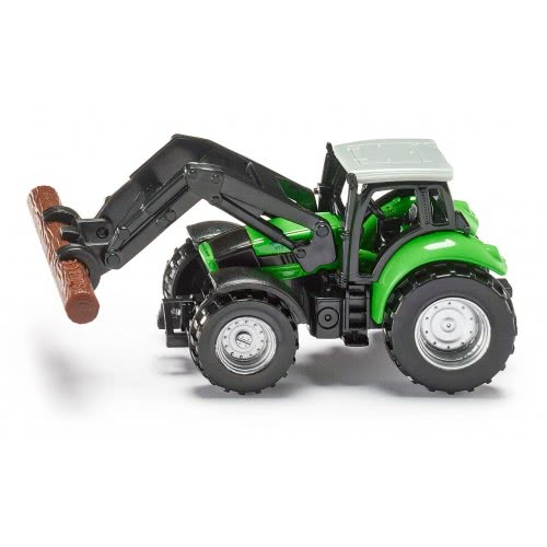 siku Tractor With Log Grabber SI001380 4006874013807