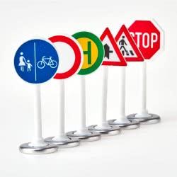siku Road Signs SI000857 4006874008575