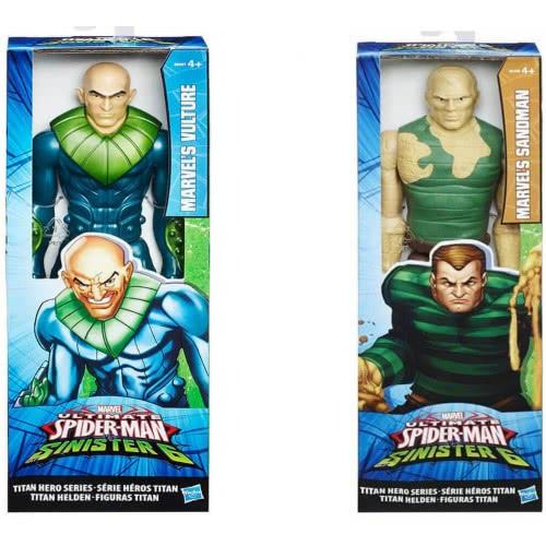 Hasbro Spiderman Titan Hero Series Villain Φιγούρες Δράσης B5755 5010994944056